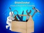 Repairman Architecture PowerPoint Backgrounds And Templates 1210