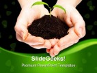 Save The Plant Environment PowerPoint Template 0810
