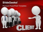 Search Client Business PowerPoint Backgrounds And Templates 1210