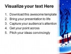 Statue Of Liberty Abstract Americana PowerPoint Template 1110