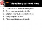 Target02 Business PowerPoint Template 0610