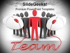 Team Business PowerPoint Backgrounds And Templates 1210