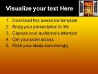 Welcome 2011 Future PowerPoint Template 1110