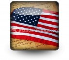 America Flag PowerPoint Icon S