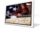 American Justice PowerPoint Icon F