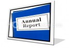 Annual Report PowerPoint Icon F