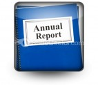 Annual Report PowerPoint Icon S