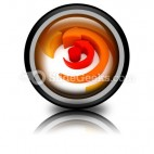 Arrows Spinning PowerPoint Icon Cc