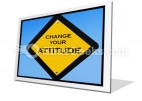 Attitude Sign PowerPoint Icon F
