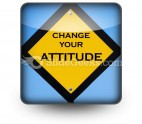 Attitude Sign PowerPoint Icon S
