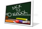 Back To School01 PowerPoint Icon F