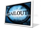 Bailout PowerPoint Icon F