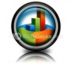 Bar Arrow Chart PowerPoint Icon Cc