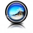 Beach01 PowerPoint Icon Cc