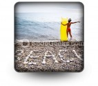 Beach03 PowerPoint Icon S