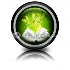 Book Of Magic PowerPoint Icon Cc