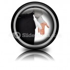 Broke Businessman PowerPoint Icon Cc