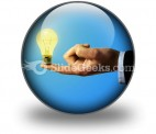 Business Idea PowerPoint Icon C