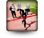 Business Race PowerPoint Icon S