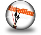 Deadline PowerPoint Icon C