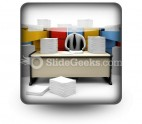 Endless Paper Work PowerPoint Icon S