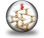Financial Balance Stable PowerPoint Icon C