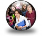 Group Of Students01 PowerPoint Icon C