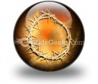 Jesus Crown PowerPoint Icon C