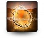 Jesus Crown PowerPoint Icon S