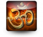 Om Religion PowerPoint Icon S