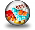 Packs Of Pills PowerPoint Icon C