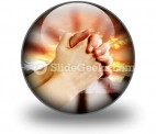 Prayer Warrior PowerPoint Icon C