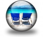 Relaxing PowerPoint Icon C