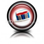 Toothbrush PowerPoint Icon Cc