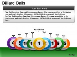 Billiard Balls PowerPoint Presentation Slides