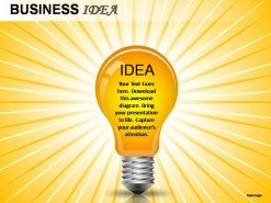 Business Idea PowerPoint Presentation Slides