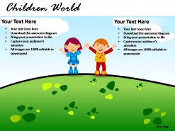 Children World PowerPoint Presentation Slides