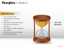 Hourglass Style 1 PowerPoint Presentation Slides