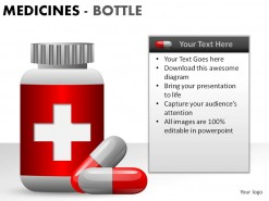 Medicine Bottles PowerPoint Presentation Slides