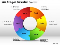 PowerPoint Template Circular Process Ppt Slides