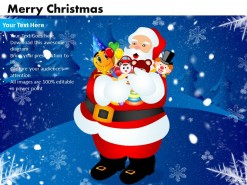 PowerPoint Template Download Merry Christmas Ppt Slides