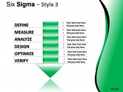 Six Sigma Style 3 PowerPoint Presentation Slides