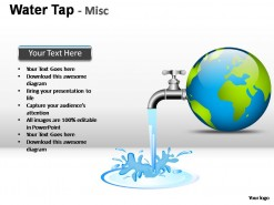 Water Tap Misc PowerPoint Presentation Slides
