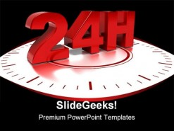 24hours Shipping Business PowerPoint Backgrounds And Templates 1210