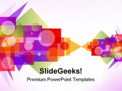 Abstract Background PowerPoint Template 0910