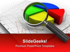 Analizing Graph Business PowerPoint Template 0910
