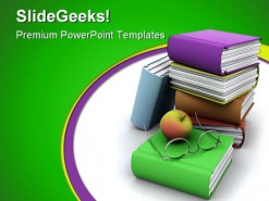 Back To School Education PowerPoint Template 1010