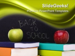 Back To School Education PowerPoint Template 1110