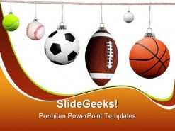 Balls Sports PowerPoint Backgrounds And Templates 1210