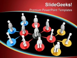 Business Network01 People PowerPoint Background And Template 1210